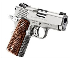 Kimber Stainless Ultra Raptor II 45acp. Nothing quite like a Kimber.