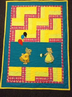 """Cot quilt """"play time"""" created 18 Feb 2017 Cot Quilt, Quilts, Feb 2017, Kids Rugs, Play, Create, How To Make, Home Decor, Decoration Home"""