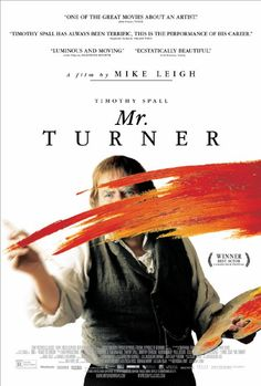 Timothy Spall as Joseph Mallord William Turner in Mike Leigh's Mr. Turner (2014).