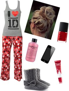 """""""one Direction Sleepover Party"""" by bree0795 on Polyvore"""