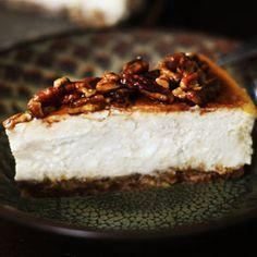 Cinnamon Pecan Cheesecake!