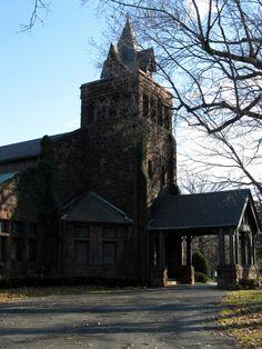 Landmark Chapel - Forest Home Cemetery - Milwaukee, WI - THE PARK NEXT DOOR