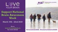 Brain Awareness Week - Neurological Alliance of Ireland Event Organization, Upcoming Events, Your Brain, Ireland, Love You, March, Wedding Ring, I Love You, Je T'aime
