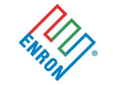 Enron corporate logo design (1996) by Paul Rand (1914-1996) American art director and graphic designer paul-rand.com