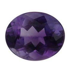 2.67 ct Oval Amethyst Deep Rich Purple -Gold Crane & Co.