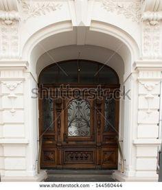 Home Entrance Door In Germany Fotos, imagens e fotografias Stock | Shutterstock
