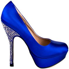 Partyy R - Blue Satin by Steve Madden