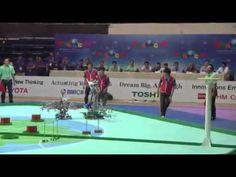▶ Teams 'Go Green' at Robocon 2013 - YouTube