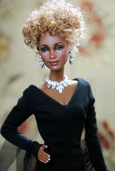 whitney houston tribute doll