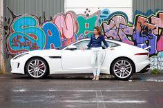 Jaguar F-TYPE R Coupé   FemmeFrontaal.nl   de vrouwelijke kijk op auto's   Photocredit: Marjolein Reman Fotografie @all rights reserved! Rij-impressie: http://femmefrontaal.nl/2014/09/28/jaguar-f-type-r-coup-speelbeest