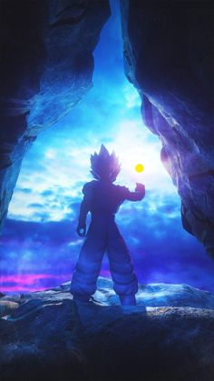 Goku Dragon Ball iPhone Wallpaper - Best of Wallpapers for Andriod and ios Dragon Ball Gt, Dragon Ball Image, Wallpaper Do Goku, Dragon Ball Z Iphone Wallpaper, Goku Blue, Dbz Wallpapers, Foto Do Goku, Vegito Y Gogeta, Anime Naruto