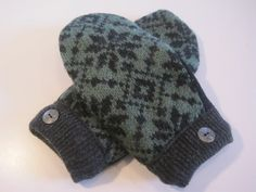 MMC0506 Montague Wool Mittens  lg/xlg by MichMittensbyLauri, $23.00