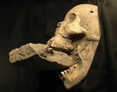 Vampire Skull, the brick was an exorcism technique used on suspected vampires in the Middle Ages