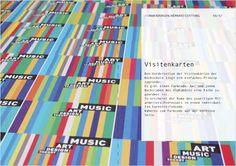 Julian Hielscher, Hochschule für Künste Bremen Alphabet, Corporate Design, Visit Cards, Bremen, Letters, Alpha Bet, Brand Design