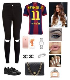 """Untitled #217"" by pinialepini on Polyvore featuring adidas, xO Design, Marc by Marc Jacobs, Chanel, Forzieri and Christian Dior"