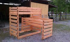 triple bunk bed configuration