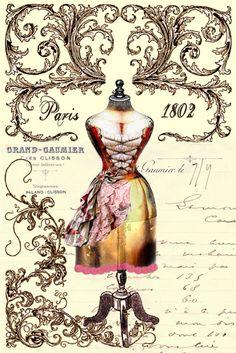 Imprimolandia: Vintage printable