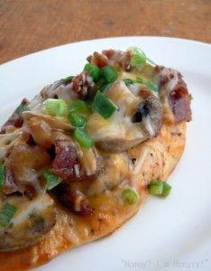 Bacon Mushroom Honey Dijon Chicken  http://www.stockpilingmoms.com/2012/04/pinterest-pin-of-the-day-bacon-mushroom-honey-dijon-chicken/