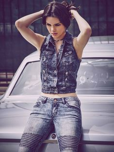 Kendall Jenner is Clad in Denim for New Penshoppe Ad Photos