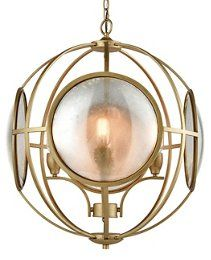 Le Style Metro Chandelier, Gold/Mercury, Encircled in rings of gleaming gold, this chandelier's antiqued glass shades cast a gorgeous glow in any room. Gold Chandelier, Chandeliers, South Shore Decorating, Antique Glass, Kitchen Lighting, Glass Shades, Home Art, Mercury, Light Up