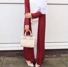 Red and white combo