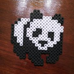 Panda perler beads by vicious0018