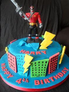 coolest cakes power rangers | Pin Power Rangers Cake Decorating Community Cakes We Bake Cake on ... Bolo Power Rangers, Power Rangers Jungle Fury, Power Ranger Cake, Power Ranger Party, Power Ranger Birthday, 6th Birthday Parties, Birthday Cakes, Birthday Ideas, Mutant Ninja