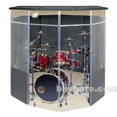 Our ClearSonic Drum Shield Panels provide acoustic separation between instruments on the stage or in the studio, reducing drum bleed and stage volume. Drum Cage, Diy Drums, Best Drums, Sound Room, Drum Room, Church Stage Design, Acrylic Panels, Panel Systems, Pinterest Diy