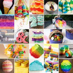 20 Creative Ways to Make a Piñata via Brit + Co