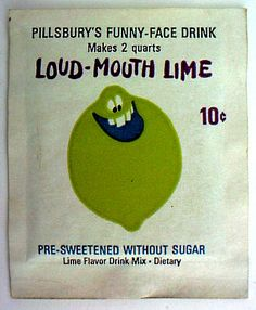 Funny Face drink mix pack Loud-Mouth Lime replica fridge magnet - new! Thanks For The Memories, Great Memories, The Last Leaf, Before I Forget, Freckle Face, Baby Boomer, My Childhood Memories, Childhood Toys, School Memories