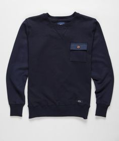 Bleu De Paname - Sweatshirt w/Pocket  It's something I can see myself wearing I'm an all black style guy anyway