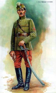 Czech Corps, Officer 1st Cavalry Regiment
