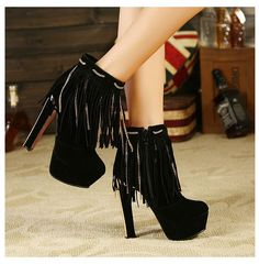 tassel personalized generous winter shoes