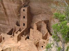 Square Tower house at Mesa Verde. If you can visit this park on a sunny spring afternoon, the light is exactly right.