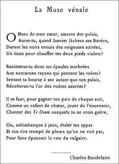 Baudelaire - La Muse