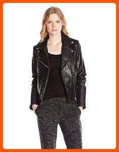 Soia & Kyo Women's Hadley Leather Moto Jacket, Black, X-Small - All about women (*Amazon Partner-Link)