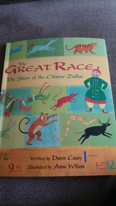 Great book for Chinese New Year The Great Race, Preschool Books, Chinese Zodiac, Chinese New Year, Great Books, Writing, Illustration, Chinese New Years, Chinese Zodiac Signs
