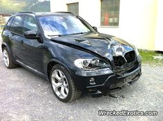 BMW X-Series X5 crashed in Switzerland
