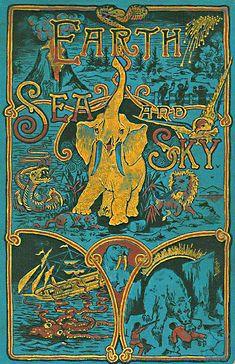 ≈ Beautiful Antique Books ≈  Earth, Sea and Sky, 1887