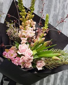 Order Online By 12pm For Same Day Delivery Melbourne Florist Flowers Birthday Pink Bouquet Gift Blush