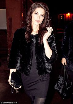 #ashleygreene #fashion and #movies   From Russia with love: Ashley Greene is a beauty in black at Moscow fashion show