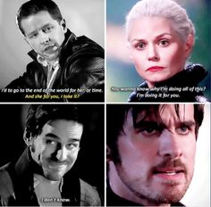 """Parallels   David and Hook - 3 * 22 """"There's No Place Like Home""""    Emma and Hook - 5 * 8 """"Birth"""" #CaptainSwan"""