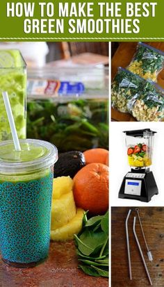 GET TIPS like what's the best blender and TRICKS, like freezing your ingredients and more! HOW TO MAKE THE BEST GREEN SMOOTHIES