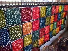 Transcendent Crochet a Solid Granny Square Ideas. Inconceivable Crochet a Solid Granny Square Ideas. Beau Crochet, Crochet Diy, Crochet Motifs, Crochet Home Decor, Love Crochet, Filet Crochet, Beautiful Crochet, Crochet Crafts, Crochet Projects