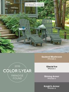 Verbazingwekkend 79 Best 2016 Paint Color of the Year - Paradise Found images ZE-28