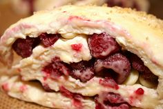 Raspberry white chocolate scones ... this recipe turns out great every time