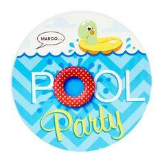 Splashin' Pool Party Invitations