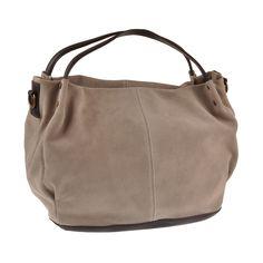 Amylee FLERS Leather Handbag | Beige by Amylee on Brands Exclusive