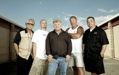 Storage Wars....this is one of my favourite shows! I do not like Dave Hester, he is the only downside to the show!   w.