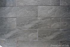 Style Selections Ivetta Black Slate Glazed Porcelain Floor Tile (6-in x 24-in) ($2.48 sq ft at Lowes)